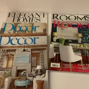 5 Glam Decor Magazines